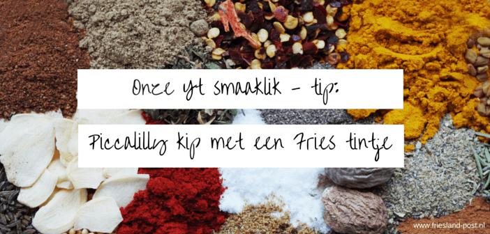 Een recept met een Fries tintje