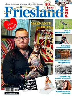 Cover Friesland Post maart 2014