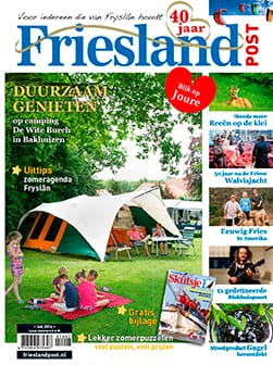 Cover Friesland Post juli 2014