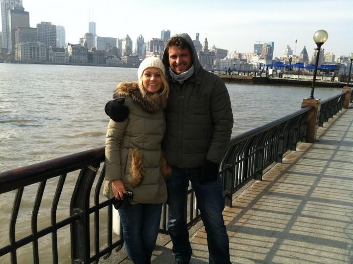 Bauke en Minke in Shanghai
