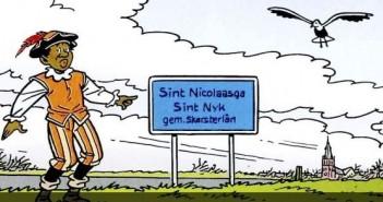 Frysk plaatje van 19 november 2014: De Sint en zijn Pieten zijn afgelopen zaterdag aangekomen in Nederland. Kijk snel voor het plaatje!