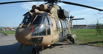 Afgelopen zaterdag 3 januari is de eerste patiëntenvlucht uitgevoerd door een Cougar-helikopter van Vliegbasis Leeuwarden.