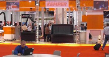 Windblocker, een uitvinding van een aantal Leeuwarders, staat op de technologiebeurs CES in Las Vegas.