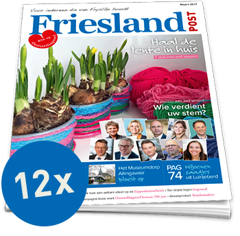 Friesland Post jaarabonnement (12x)