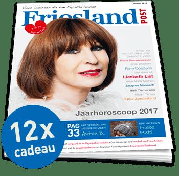 Friesland Post jaarabonnement cadeau (12x)