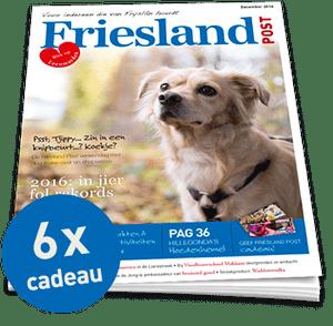 Friesland Post halfjaarabonnement cadeau (6x)