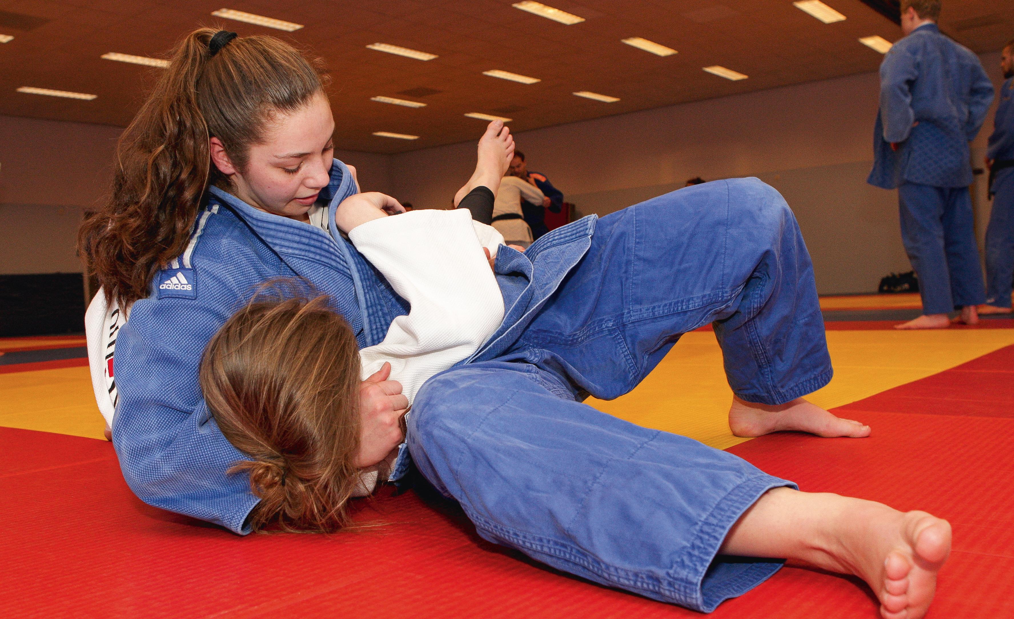 Jong judotalent