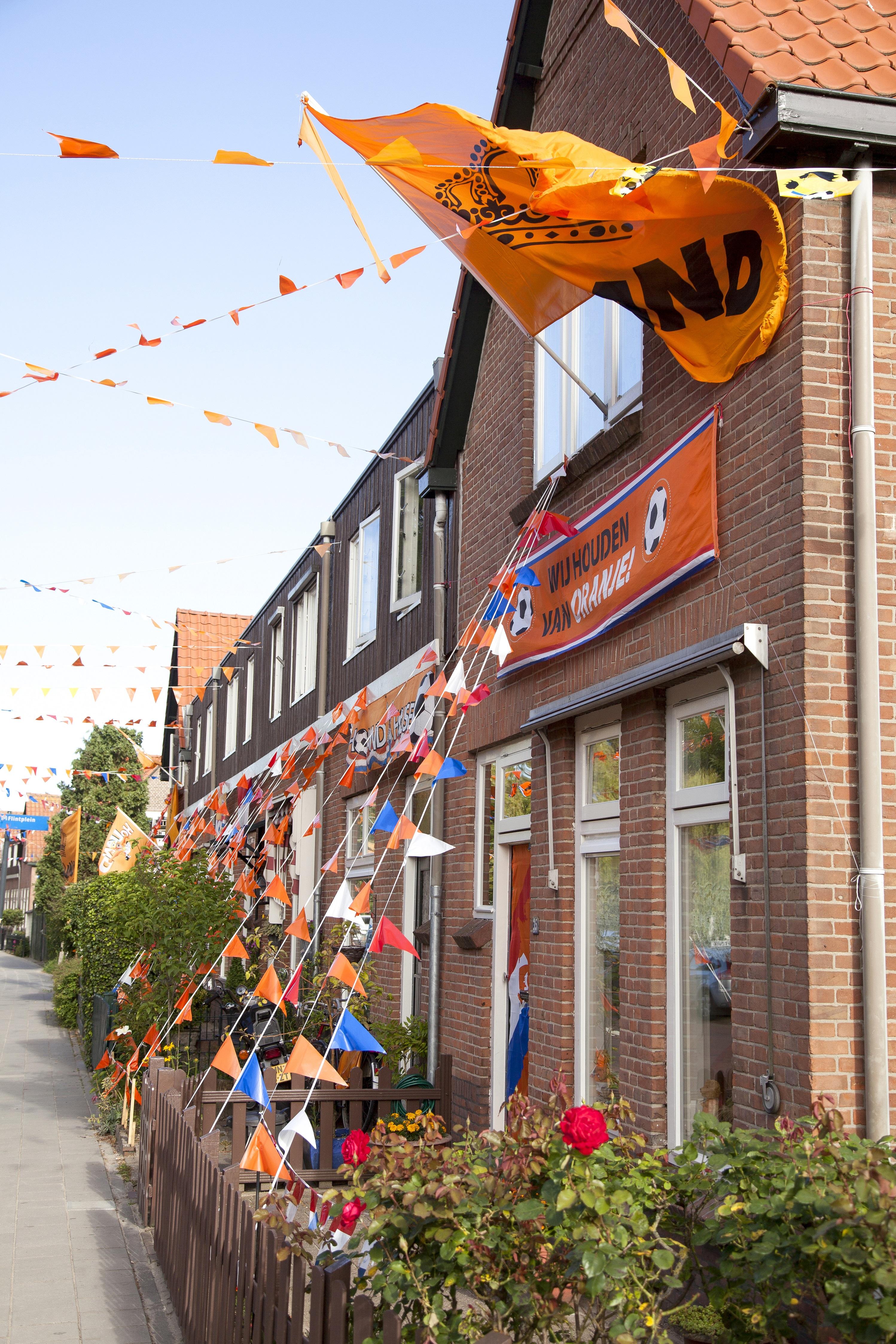 Fryslân kleurt 'hip' oranje