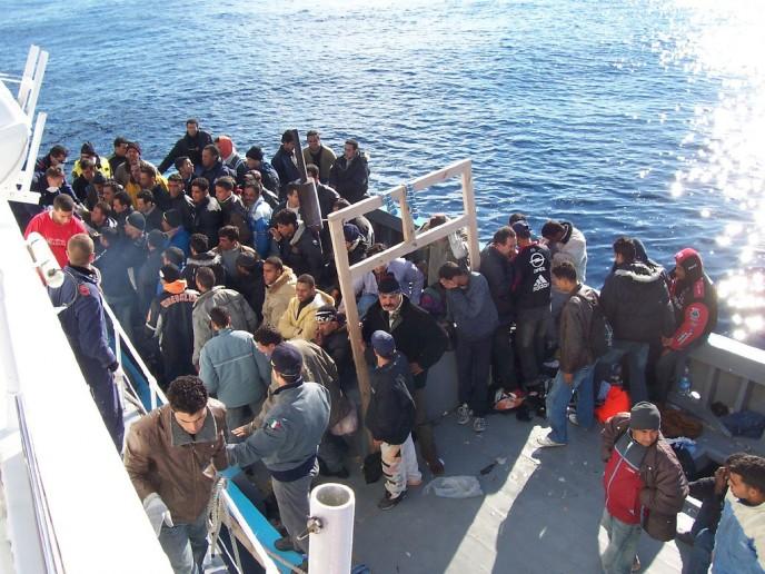 vluchtelingenboot