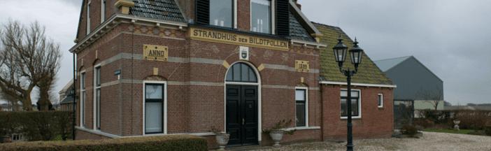 Het strandhuis zonder strand in het Bildt