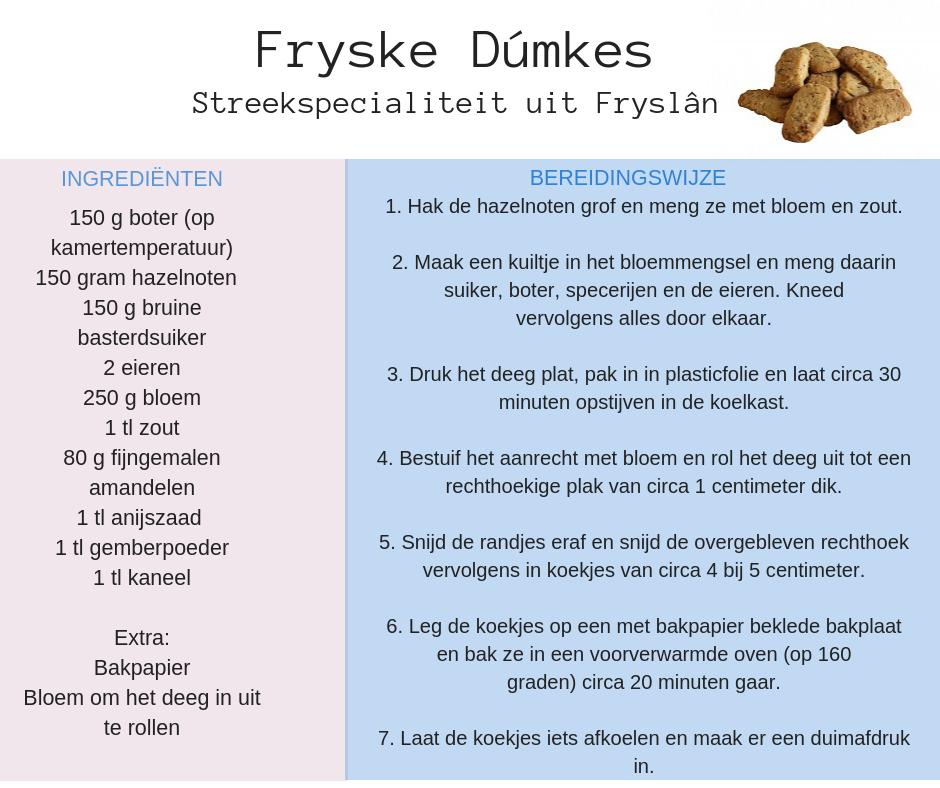 Recept Fryske dúmkes