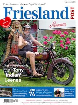Cover van de september editie van Friesland Post