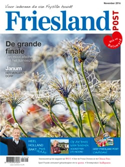 Cover Friesland Post november 2016