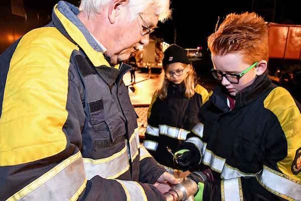 Een avond met de jeugdbrandweer