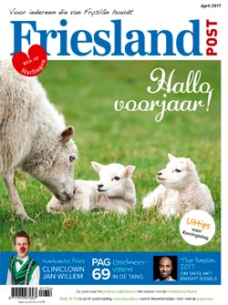 Cover april editie Friesland Post (2017)