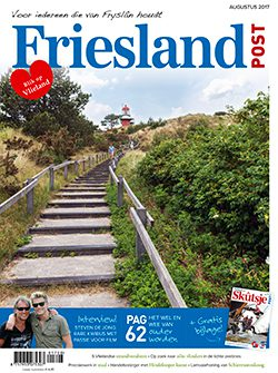 Cover augustus editie Friesland Post 2017
