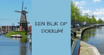 Een blik op Elfstedenstad Dokkum