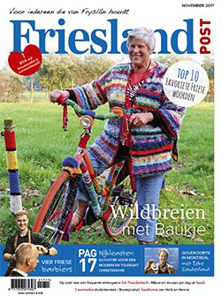 Cover oktober editie Friesland Post