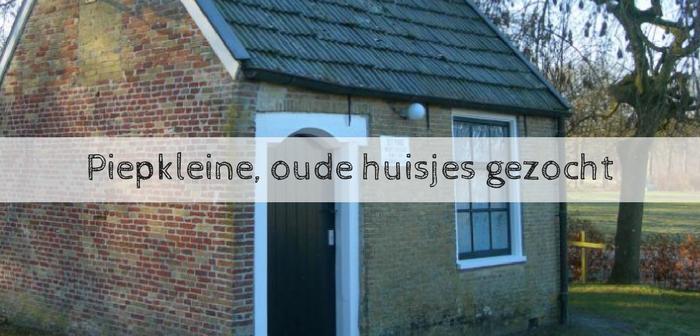 Piepkleine, oude huisjes gezocht in Friesland