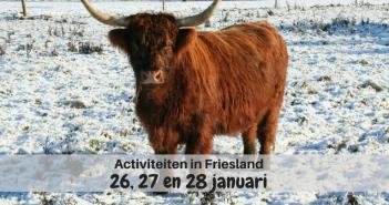 Wat te doen in Friesland op 26, 27 en 28 januari 2018?