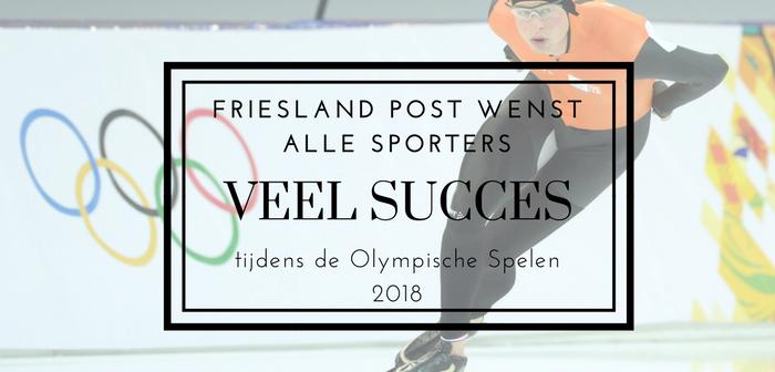 Olympische Spelen 2018: Friese energie in Pyeongchang