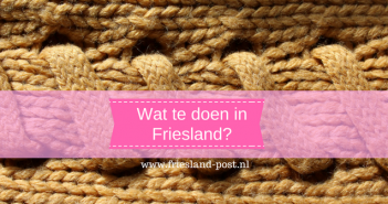 Wat te doen in Friesland?
