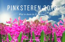 evenementen in Friesland tijdens Pinksteren