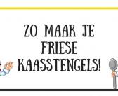 Een heerlijk Fries recept voor kaasstengels
