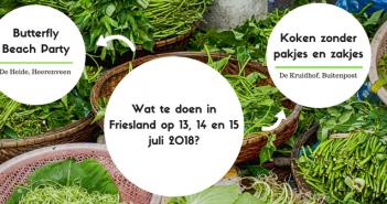 Wat te doen in Friesland op 13, 14 en 15 juli 2018?