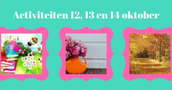 Wat te doen in Friesland op 12, 13 en 14 oktober 2018?