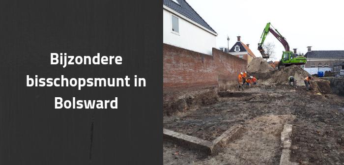 Bijzondere bisschopsmunt gevonden in Bolsward