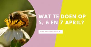 wat te doen in Friesland op 5, 6 en 7 april?