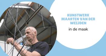 Kunstwerk Maarten van der Weijden in de maak