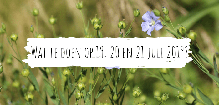 Wat te doen in Friesland op 19, 20 en 21 juli 2019?