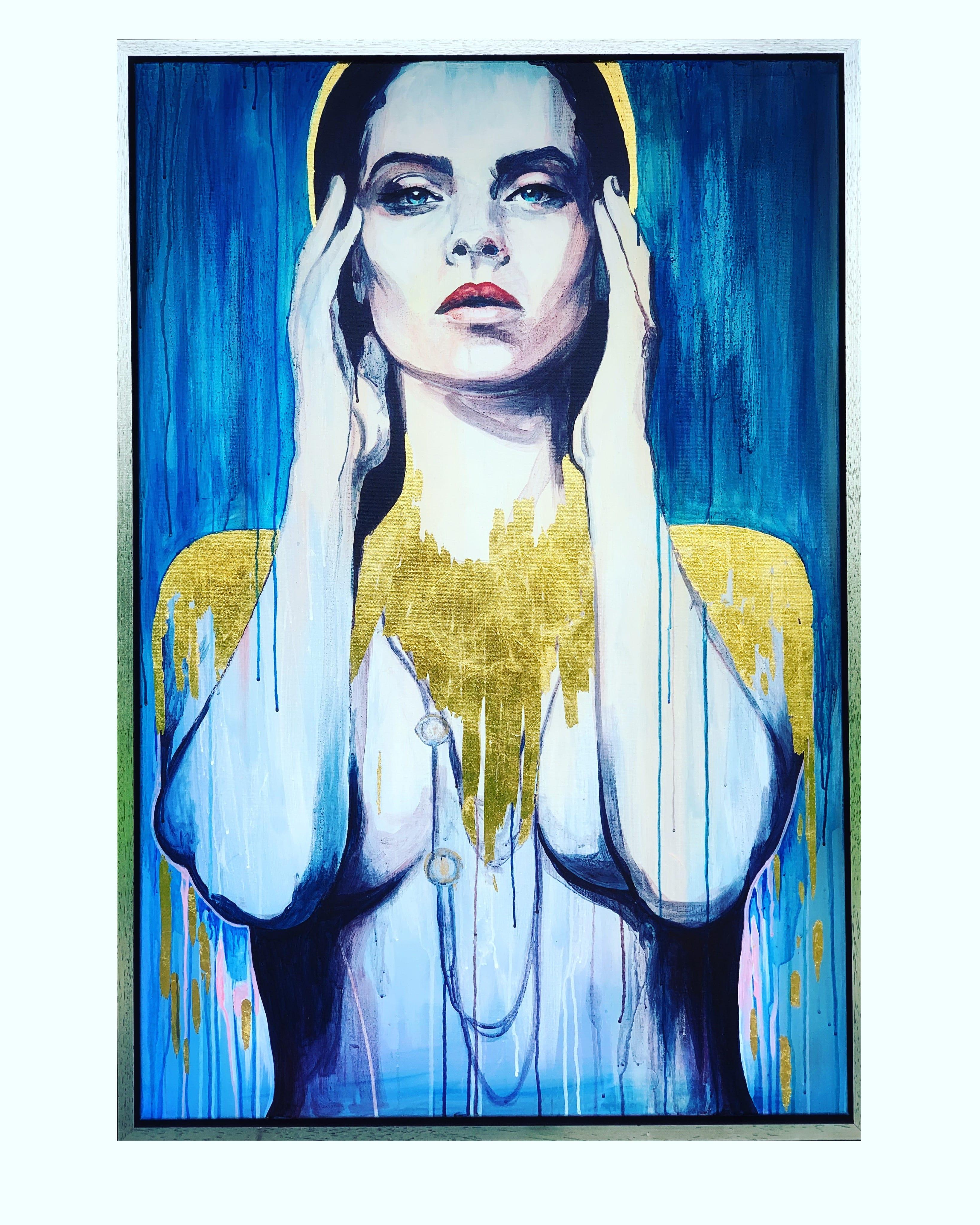 Een schilderij van Ellen-Claire