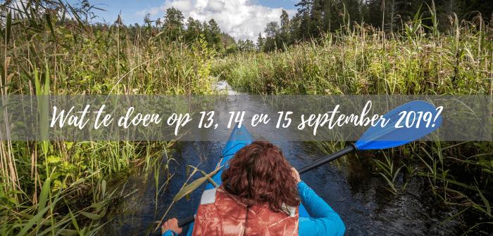 Wat te doen in Friesland op 13, 14 en 15 september?