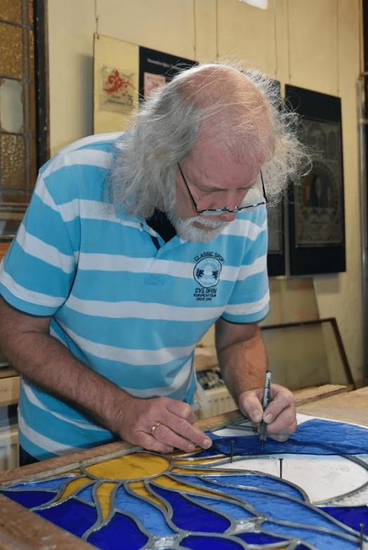Glazenier Johannes Boersma over restauratiewerk