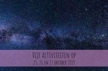 Wat te doen in Friesland op 25, 26 en 27 oktober 2019?