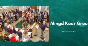 Mingd Koar Grou viert vrijheid met muziekstuk 'FREDE'