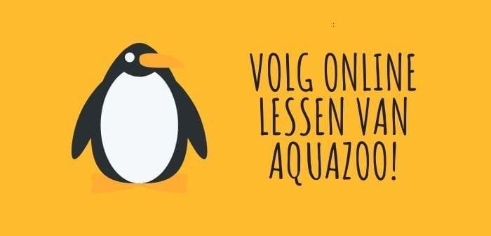 Dierentuin AquaZoo gaat online les geven