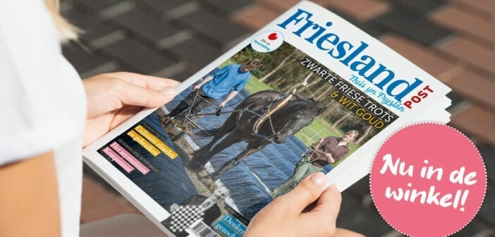 Nu in de winkel: het juninummer van Friesland Post!